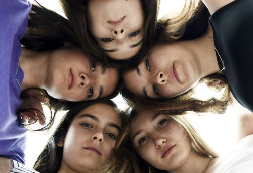 (Clockwise from left): Tugba Sunguroglu, Ilayda Akdogan, Gunes Sensoy, Elit Iscan and Doga Zeynep Doguslu