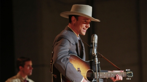 Tom Hiddleston as Hank Williams