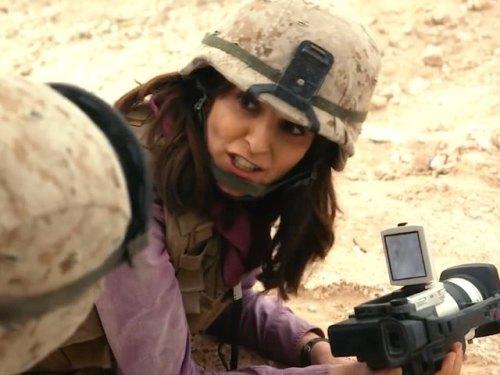 Tina Fey...embedded