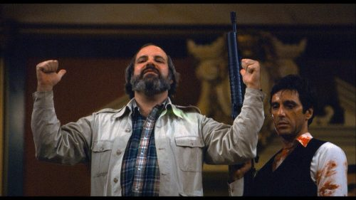 "Brian De Palma...with ""little friend"""