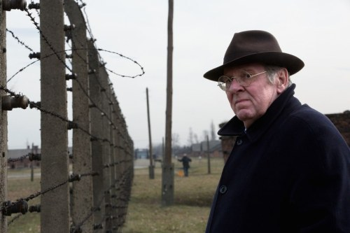 Tom Wilkinson at Auschwitz