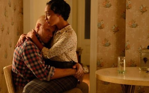 Joel Egerton and Ruth Negga as Richard and Mildred Loving