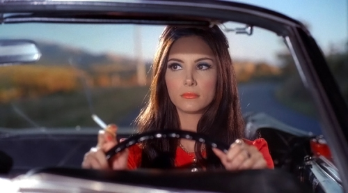 "Samantha Robinson as ""The Love Witch"""
